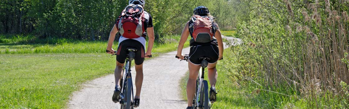 Luggage transfer for walkers & cyclists